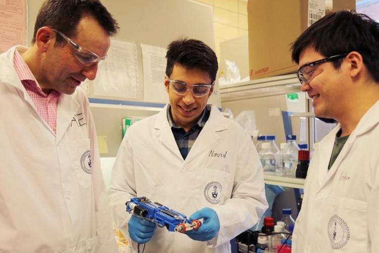 Фото - В Университете Торонто создали портативный 3D-принтер для печати кожного покрова»