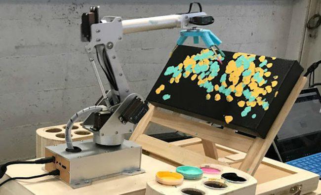 Фото - Искусственное искусство: RobotArt — конкурс по созданию картин среди роботов