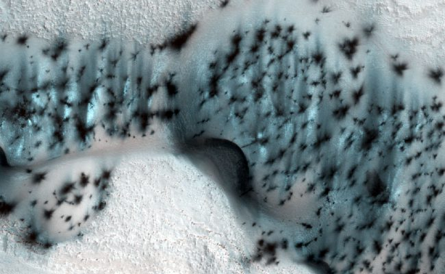 Фото - #фото | NASA опубликовало удивительные фотографии зимнего Марса