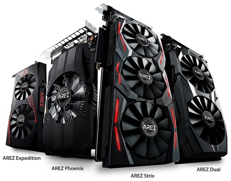 Фото - ASUS представила бренд AREZ для видеокарт Radeon»
