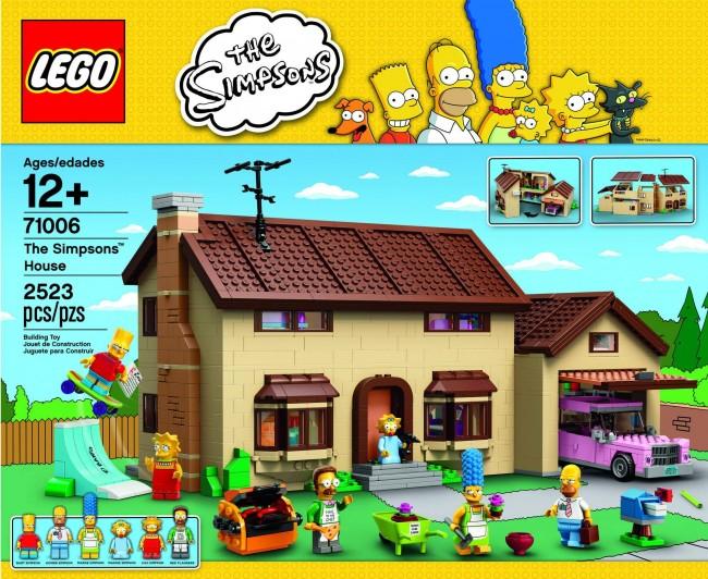 Фото - Конструкторы Lego с героями «Симпсонов» выйдут в феврале