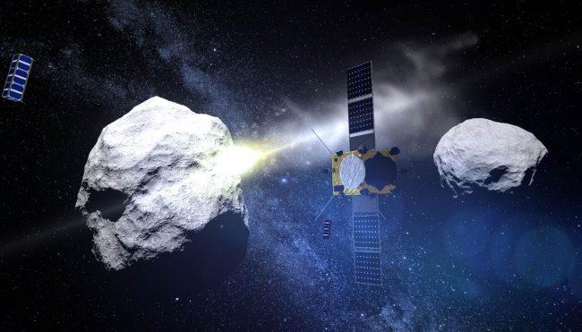 Фото - Агентства NASA и ESA возьмут астероид на таран в 2024 году