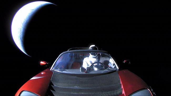 Фото - NASA официально зарегистрировало автомобиль Илона Маска как астрономический объект