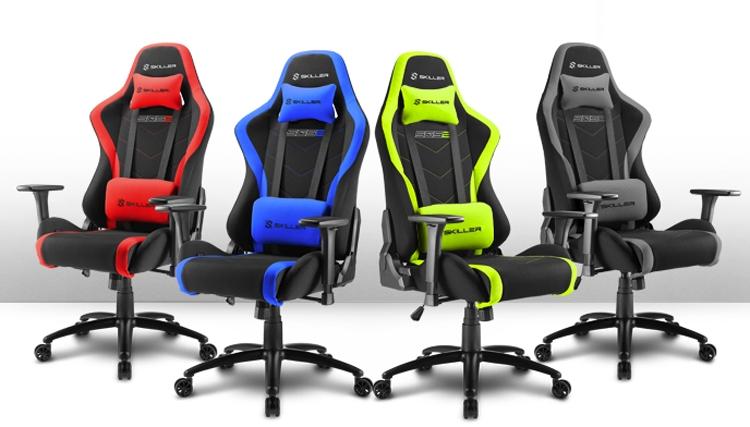 Фото - Sharkoon Skiller SGS2: комфортное игровое кресло в четырёх вариантах расцветки»