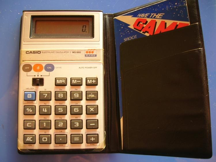 Фото - Casio перевыпустит музыкальный калькуляторMG-880″